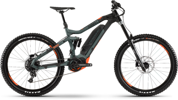 Haibike XDURO Dwnhll 8.0 Color: Black & Green