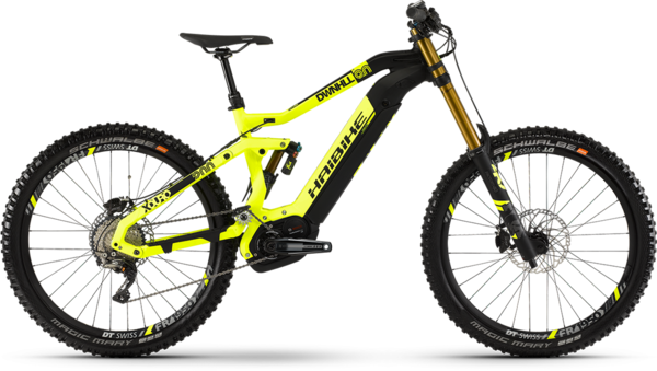 Haibike XDURO Dwnhll 9.0 Color: Black/Yellow