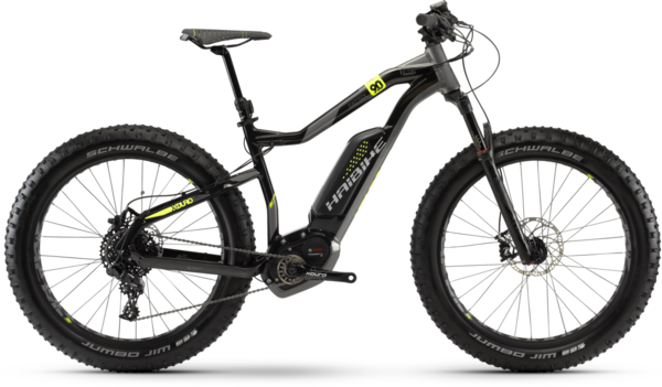 Haibike XDURO FatSix 9.0 Color: Black
