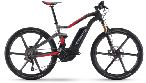 Haibike XDURO FullSeven Carbon 10.0 Color: Carbon/Anthracite/Red Matte