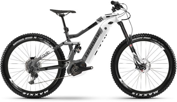 Haibike XDURO Nduro 3.0 Color: White/Gray