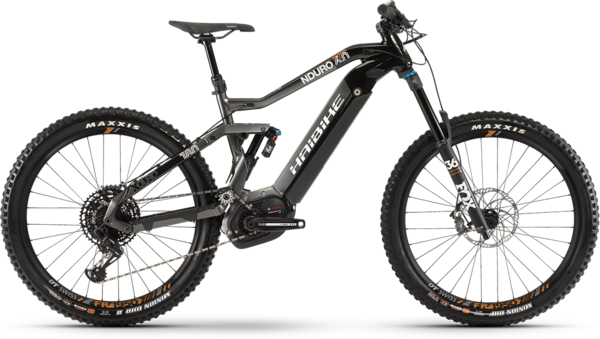 Haibike XDURO Nduro 6.0 Color: Black/Titan