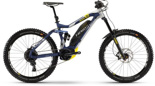 Haibike XDURO Nduro 7.0 Color: Blue