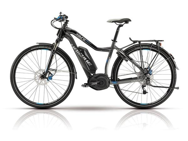 Haibike Xduro Trekking RX Low-Step Color: Gray/Black