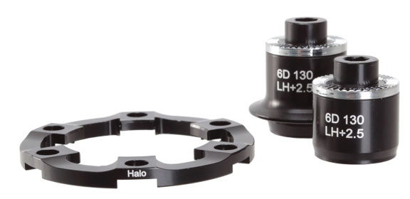 HALO Adapters, Spin Doctor 6-Drive Road Disc Hubs