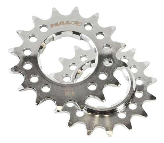 HALO Fat Foot Cog Color | Model: Chrome | 12T