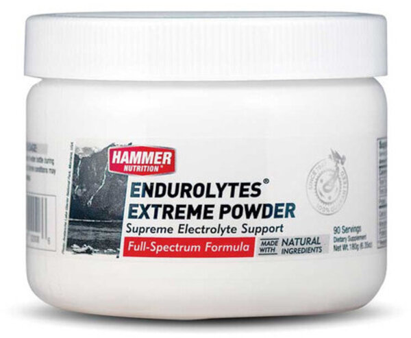 Hammer Nutrition Endurolytes Extreme Powder Flavor | Size: Watermelon | 90-serving