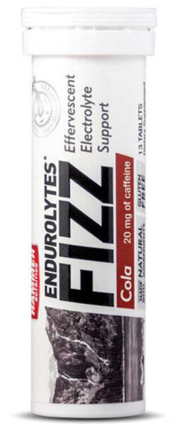 Hammer Nutrition Endurolytes Fizz Flavor | Size: Cola | 13-serving 12-pack