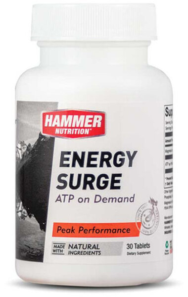 Hammer Nutrition Energy Surge Flavor | Size: Cherry | 30 Tablets