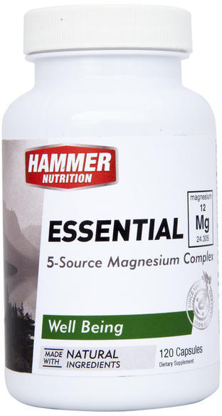 Hammer Nutrition Essential Mg Size: 120 Capsules