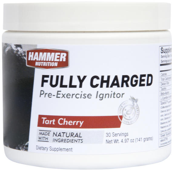 Hammer Nutrition Fully Charged Flavor | Size: Tart Cherry | 30-serving