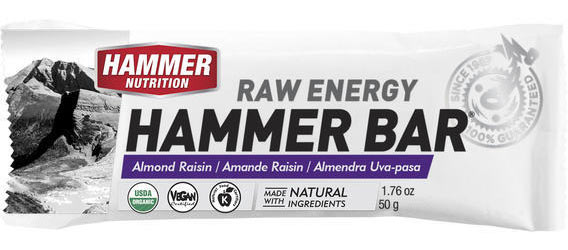 Hammer Nutrition Hammer Bar Flavor: Almond Raisin