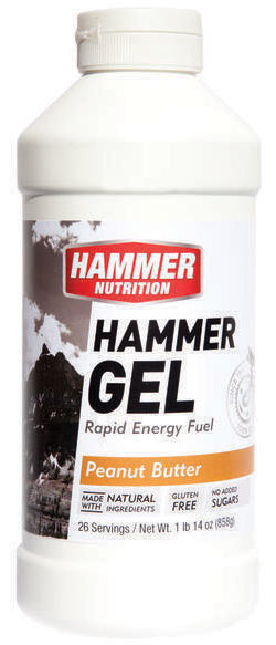 Hammer Nutrition Hammer Gel Flavor | Size: Peanut Butter | 26-serving