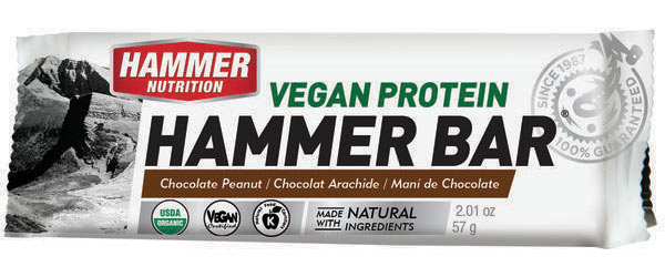Hammer Nutrition Hammer Vegan Recovery Bar (12-Count) Flavor: Chocolate Peanut