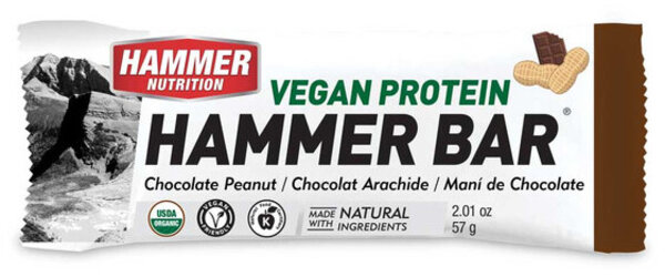 Hammer Nutrition Vegan Protein Bar Flavor: Chocolate Peanut