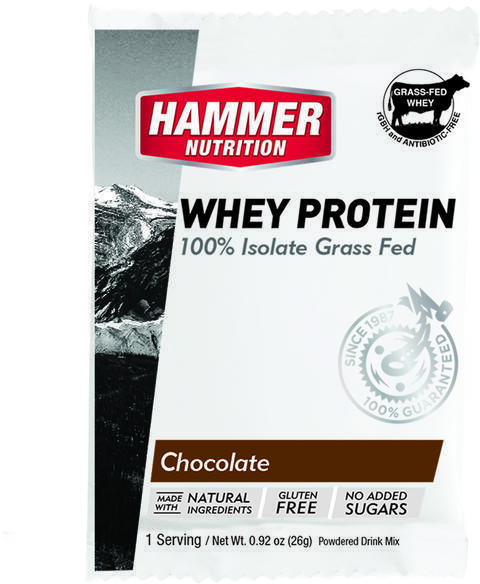 Hammer Nutrition Whey Protein (12-pack) Flavor: Chocolate