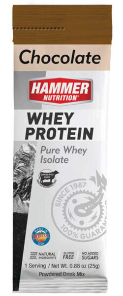 Hammer Nutrition Hammer Whey Protein Flavor | Size: Chocolate | Single Serving
