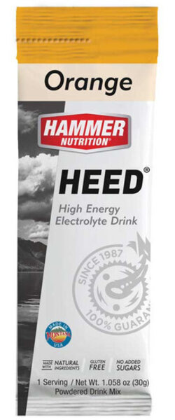 Hammer Nutrition HEED Sports Drink Flavor | Size: Mandarin Orange | Single Serving