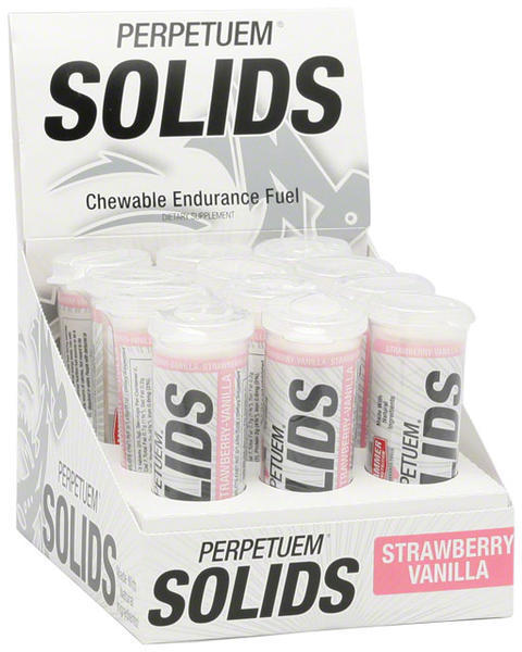 Hammer Nutrition Perpetuem Solids (12 6-tablet tubes) Flavor | Size: Strawberry-Vanilla | 6-tablet 12-pack