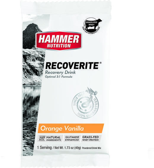 Hammer Nutrition Recoverite (12-pack) Flavor: Orange-Vanilla