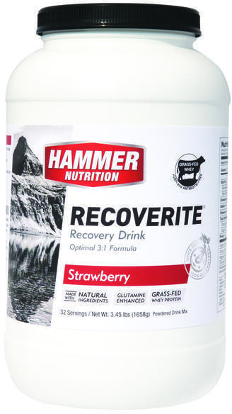 Hammer Nutrition Recoverite Flavor | Size: Strawberry | 32-serving