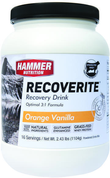 Hammer Nutrition Recoverite Flavor | Size: Orange Vanilla | 16-serving