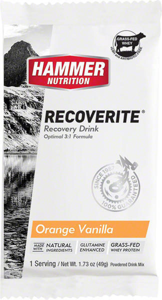 Hammer Nutrition Recoverite Flavor | Size: Orange Vanilla | Single Serving