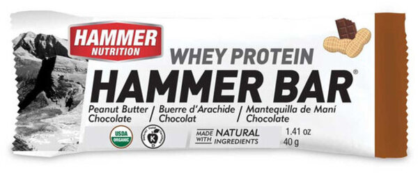 Hammer Nutrition Whey Protein Bar (12-pack)