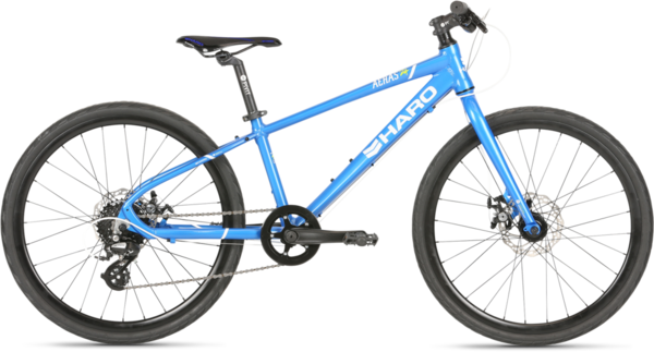 Haro Aeras 24 Color: Bright Blue/White