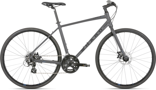 Haro Aeras Color: Matte Charcoal