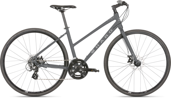 Haro Aeras ST Color: Charcoal