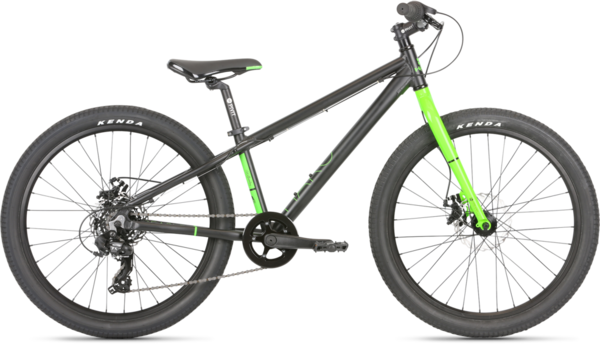 Haro Beasley 24 Color: Black/Neon Green