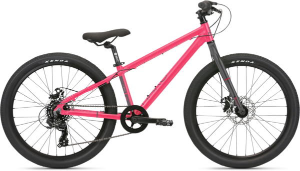 Haro Beasley 24 Color: Hot Pink/Charcoal