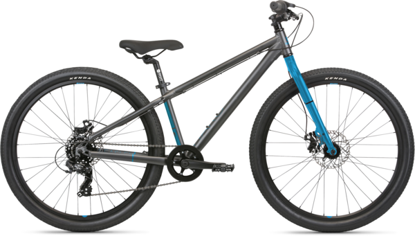 Haro Beasley 26 Color: Matte Black/Blue