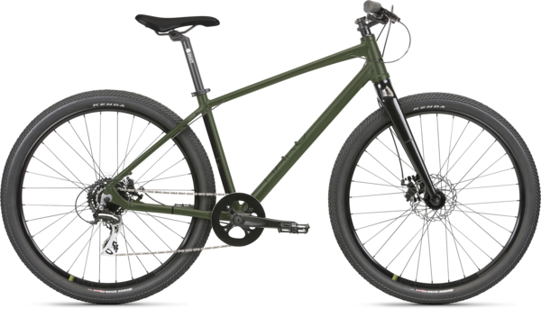 Haro Beasley 27.5 Color: Matte Army Green