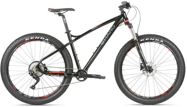 Haro Double Peak 27.5 Plus Comp Color: Black/Red