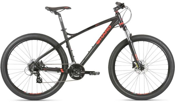 Haro Double Peak 27.5 Sport Color: Satin Black/Red