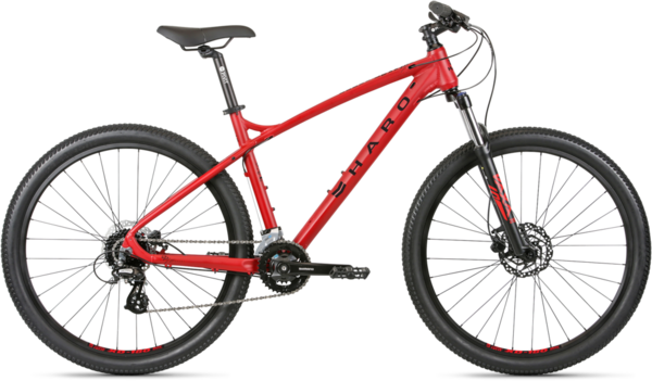 Haro Double Peak 27.5 Sport Color: Rosso Red