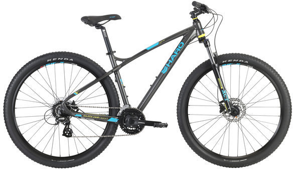 Haro Double Peak 29 Sport Color: Charcoal/Teal