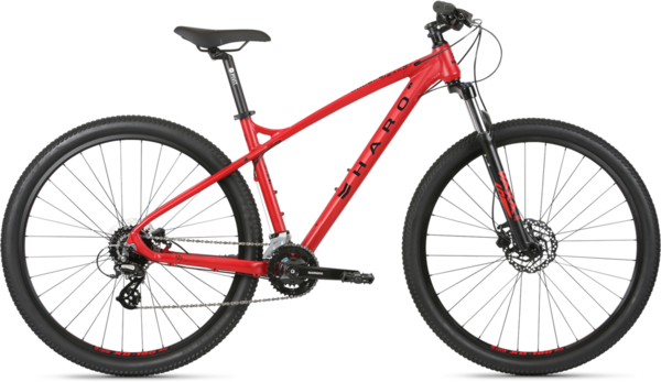 Haro Double Peak 29 Sport Color: Rosso Red