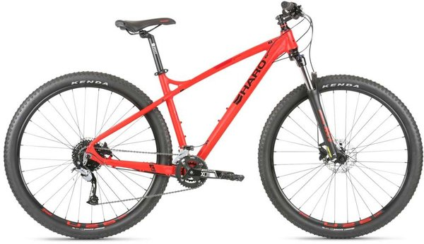 Haro Double Peak 29 Trail Color: Electric Red