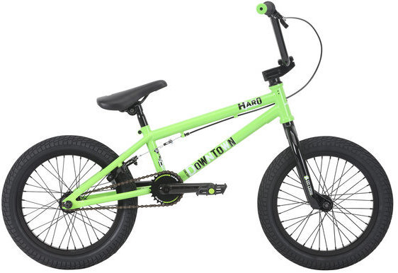 Haro Downtown 16 Color: Gloss Lime