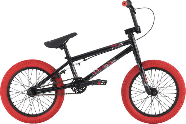 Haro Downtown 16 Color: Gloss Black