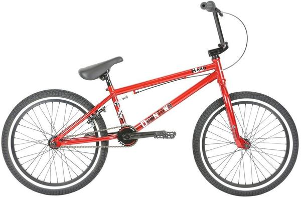 Haro Downtown Color: Gloss Mirra Red