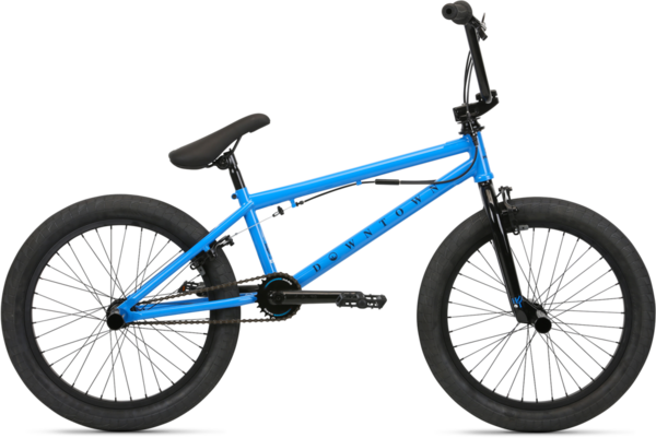 Haro Downtown DLX Color: Vivid Blue