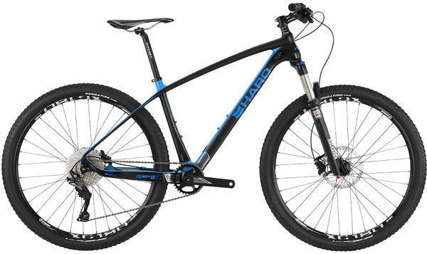 Haro FLC 27.5 Comp Color: Black/Blue