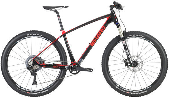 Haro FLC 27.5 Comp Color: UD Black/Red