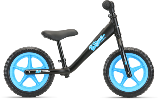 Haro PreWheelz 12 EVA Gen 2 Color: Black Anodized
