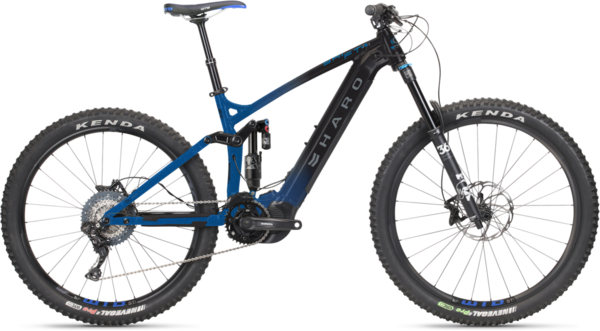 Haro Shift I/O 9 Color: Black/Metallic Blue
