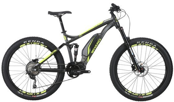 Haro Shift Plus I/O 5 Color: Charcoal/Neon Yellow